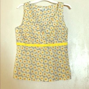 Cute Boden Tank with Ribbon Detail